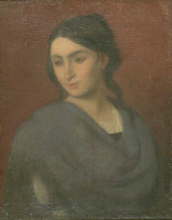 Giovanni (Nino) Costa, Studio di donna