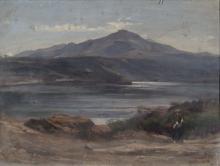 Costa, Un lago italiano con figura femminile.png