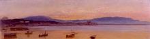 Costa, Veduta di Nettuno all'alba con barche da pesca.jpg