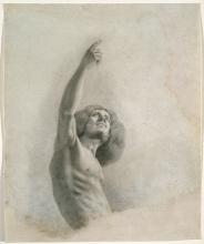 Courbet, Autoritratto con braccio alzato.jpg
