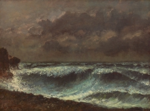 Courbet, Burrasca all'orizzonte.jpg