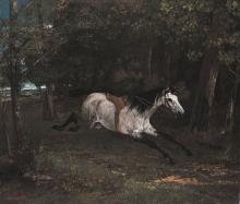 Courbet, Cavallo al galoppo [1861].jpg