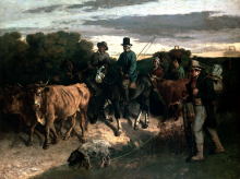 Courbet, I contadini di Flagey.png