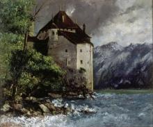 Courbet, Il castello di Chillon [1873].jpg