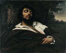 Courbet, Il ferito | Der Verwundete | Le blessé | The wounded