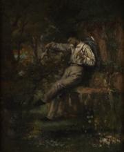 Gustave Courbet, L'addio del volontario   Der Abschied des Freiwilligen