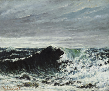 Courbet, L'onda | La vague | The wave