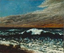 Gustave Courbet, L'onda | La vague | Die Woge