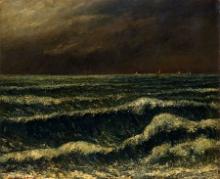 Gustave Courbet, L'onda | La vague | Bølgen
