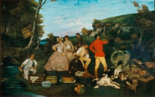 Courbet, La colazione di caccia.jpg
