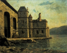 Gustave Courbet, La prigione sul lago