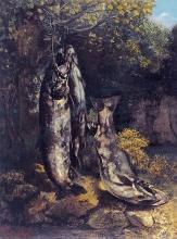 Gustave Courbet, Le tre trote del Loue | Les trois truites de la Loue