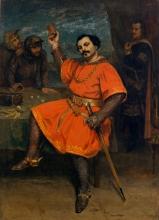 Courbet, Louis Gueymard nel ruolo di Robert le Diable.jpg
