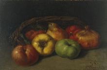 Courbet, Natura morta con mele, pera e melegrane.jpg