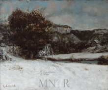 Courbet, Paesaggio invernale.png