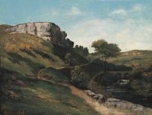 Gustave Courbet, Paesaggio nei pressi di Maizières