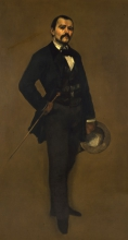 Gustave Courbet, Ritratto di Max Buchon