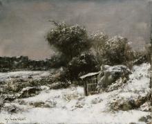 Gustave Courbet, Scena d'inverno | Scène d'hiver | Winter scene