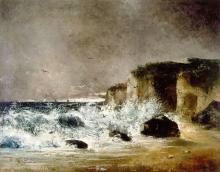 Courbet, Tempesta a Etretat.png