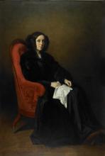 Thomas Couture, Ritratto di Madame Poullain-Dumesnil | Portrait de Madame Poullain-Dumesnil | Portrait of Madame Poullain-Dumesnil