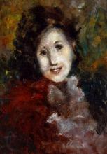 Tranquillo Cremona Tranquillo (attribuito a), Ritratto di donna
