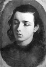 Tranquillo Cremona (attribuito a), Studio di testa di giovinetta