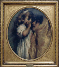 Tranquillo Cremona, Amor materno [1873]
