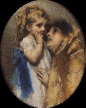 Tranquillo Cremona, Amor materno [1875 circa]