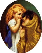 Tranquillo Cremona, Amore materno
