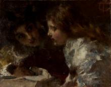 Tranquillo Cremona, Due bambini | Twee kinderen