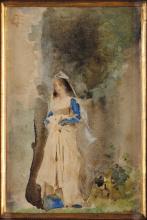 Tranquillo Cremona, Giovane donna