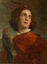 Tranquillo Cremona, Il falconiere [1859 circa]