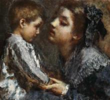 Tranquillo Cremona, Il frutto dell'amore