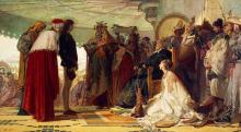 Tranquillo Cremona, Marco Polo davanti al Gran Khan dei Tartari