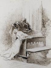 Tranquillo Cremona, Margherita e Faust in chiesa
