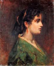 Tranquillo Cremona, Ritratto di Amalia Sirtori