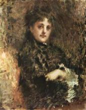 Tranquillo Cremona, Ritratto di Emma Ivon