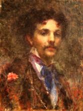 Tranquillo Cremona, Ritratto di Luigi Luvoni