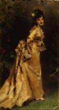 Tranquillo Cremona, Ritratto di Maria Morozzi