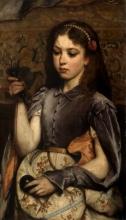 Tranquillo Cremona, Ritratto di ragazza