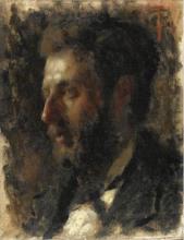 Tranquillo Cremona, Ritratto maschile