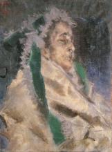 Tranquillo Cremona, Teresa Sonzogno sul letto di morte