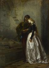 Tranquillo Cremona, Una visita alla tomba di Giulietta e Romeo