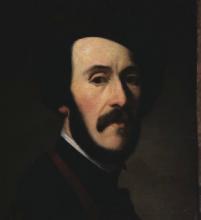Vito D'Ancona (attribuito a), Ritratto d'uomo