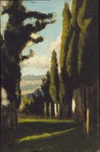 D'Ancona, Cipressi a Volognano.png