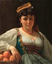 Vito D'Ancona, La venditrice siciliana di arance