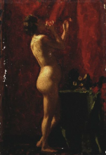 Vito D'Ancona, Nudo femminile