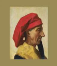 D'Ancona, Ritratto d'uomo in costume del Quattrocento.png