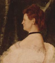 Vito D'Ancona, Ritratto femminile