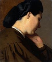 Vito D'Ancona, Testa di donna